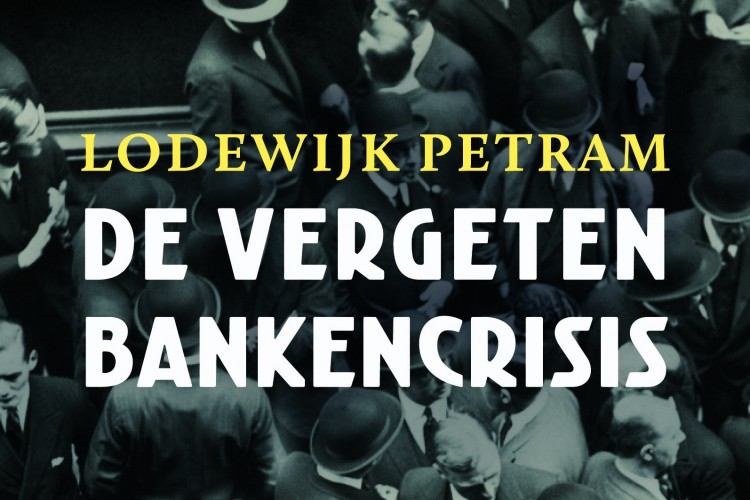 Lodewijk Petram | De vergeten bankencrisis | omslag (detail)