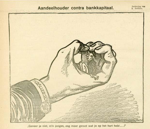 Leo Jordaan   Spotprent in De Notenkraker (17 juli 1926)