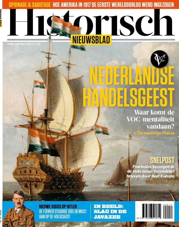 Historisch Nieuwsblad februari 2017 - cover