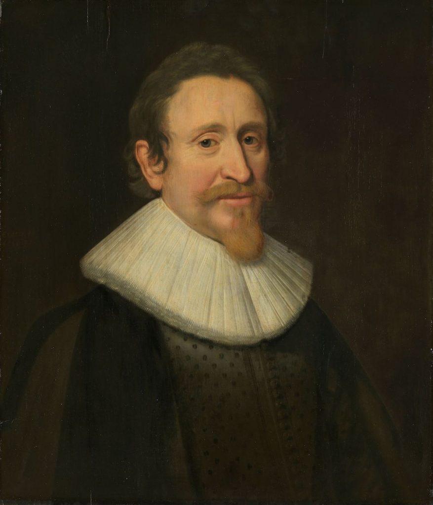 Hugo de Groot, schrijver van Mare liberum, geportretteerd door Michiel Jansz. van Mierevelt, 1631. Rijksmuseum, CC0.
